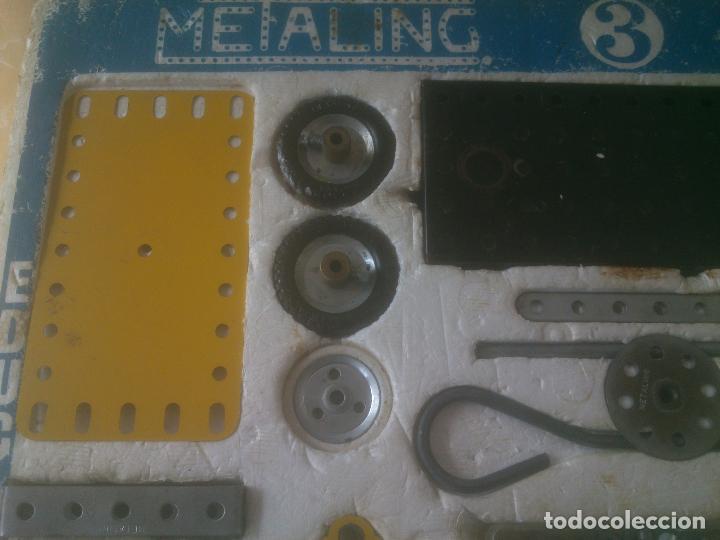 Juegos construcción - Meccano: JUEGO DE CONSTRUCCIÓN MECCANO METALING Nº 3 AÑOS 70S JUGUETES POCH - Foto 3 - 245949850