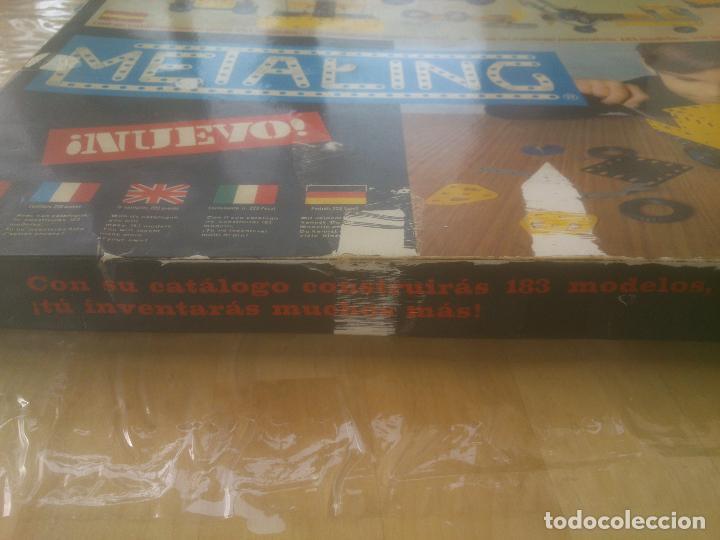 Juegos construcción - Meccano: JUEGO DE CONSTRUCCIÓN MECCANO METALING Nº 3 AÑOS 70S JUGUETES POCH - Foto 5 - 245949850