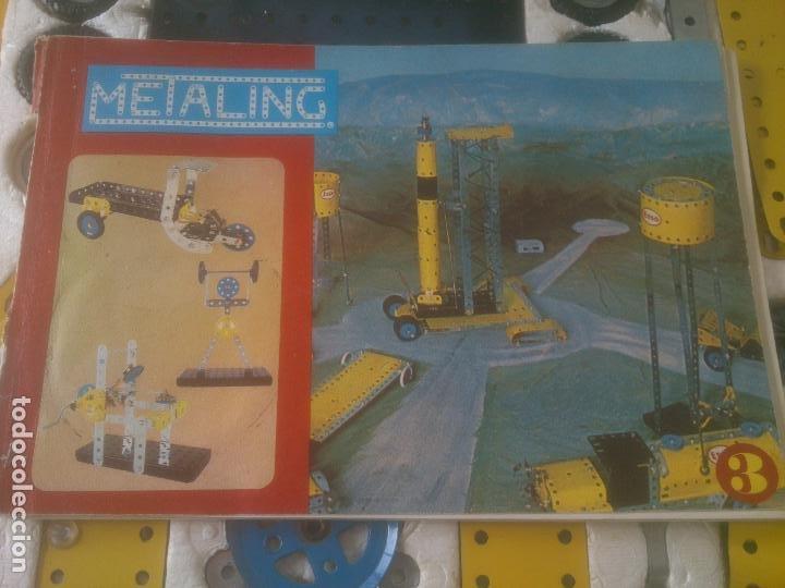 Juegos construcción - Meccano: JUEGO DE CONSTRUCCIÓN MECCANO METALING Nº 3 AÑOS 70S JUGUETES POCH - Foto 9 - 245949850
