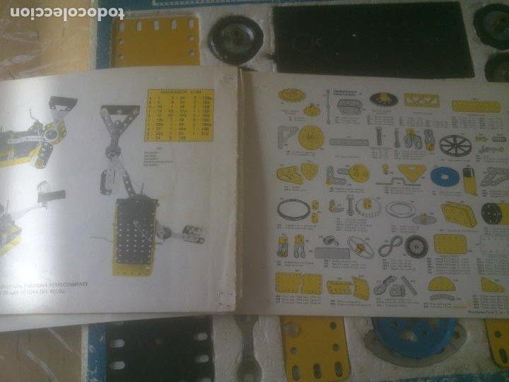 Juegos construcción - Meccano: JUEGO DE CONSTRUCCIÓN MECCANO METALING Nº 3 AÑOS 70S JUGUETES POCH - Foto 11 - 245949850