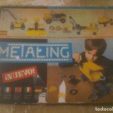 Juegos construcción - Meccano: JUEGO DE CONSTRUCCIÓN MECCANO METALING Nº 3 AÑOS 70S JUGUETES POCH. Lote 245949850