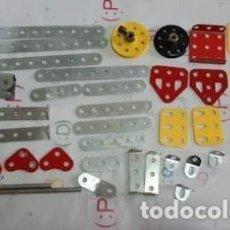 Juegos construcción - Meccano: LOTE DE PIEZAS MECCANO. Lote 246084460