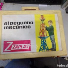Juegos construcción - Meccano: ANTIGUO JUEGO DE CONSTRUCCIÓN EL PEQUEÑO MECÁNICO DE ZAPLAS AÑOS 60. Lote 246747385