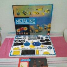 Juegos construcción - Meccano: METALING ESTILO MECANO SERIE ESPACIAL DE NOVEDADES POCH 1970 BARCELONA. Lote 246935990