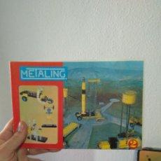 Juegos construcción - Meccano: CATÁLOGO DE MONTAJE DE METALING N°2 NOVEDADES POCH 1970 BARCELONA. Lote 246937825