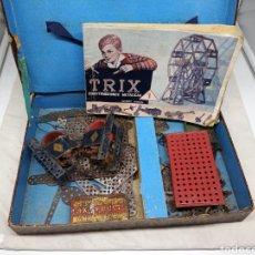 Juegos construcción - Meccano: TRIX CAJA JUEGO CONSTRUCCIONES METÁLICAS. Lote 247228860