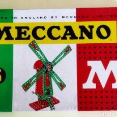 Juegos construcción - Meccano: ANTIGUO JUEGO MECCANO AÑOS 60.. Lote 248183780