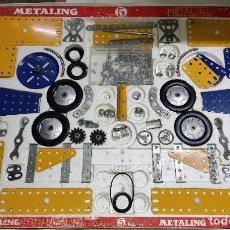 Juegos construcción - Meccano: ANTIGUO MECCANO METALING Nº 5 CAJA GRANDE BASTANTE COMPLETO MADE IN SPAIN ORIGINAL AÑOS 70. Lote 249130320