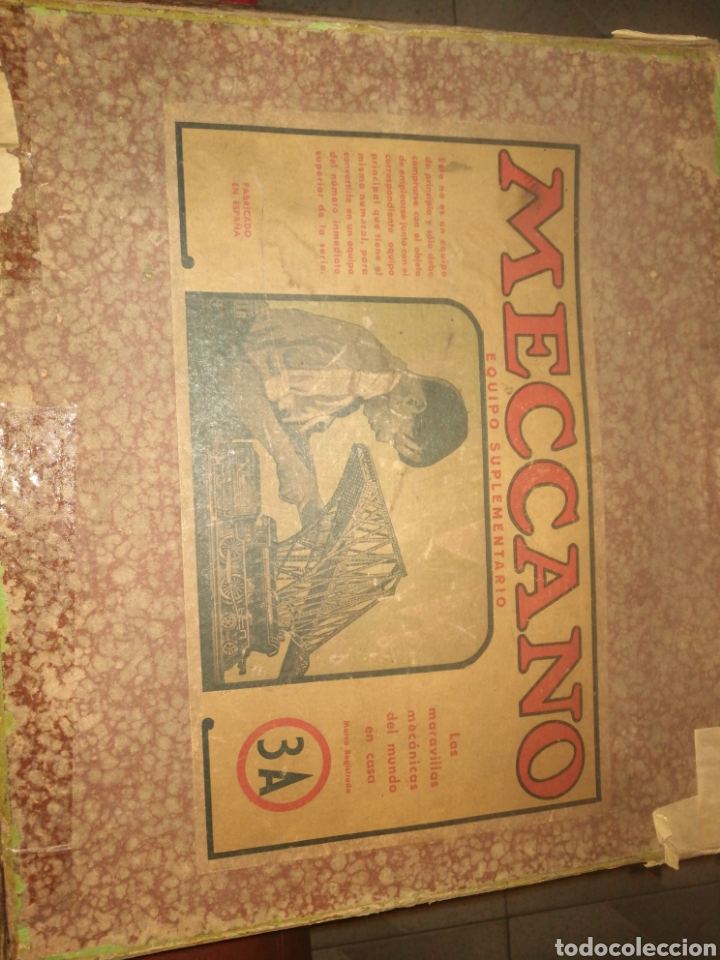 MECCANO ANTIGUO ENVIO 6 € (Juguetes - Construcción - Meccano)