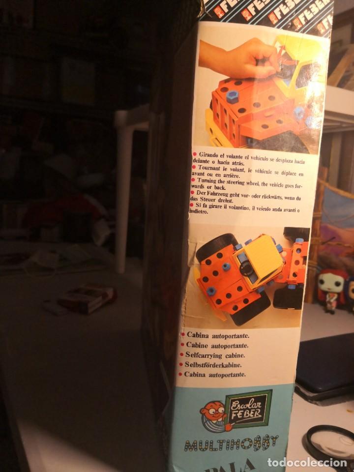 Juegos construcción - Meccano: Pala juguete construcción tipo meccano marca feber escolar multihobby nuevo en caja - Foto 2 - 250266515