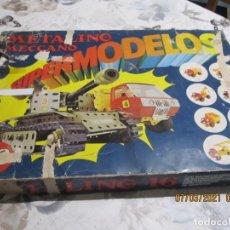 Juegos construcción - Meccano: ANTIGUO MECCANO METALICO SUPERMODELOS 16. Lote 251431695