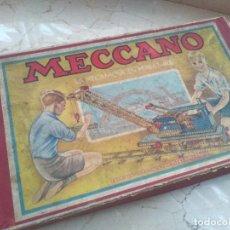 Juegos construcción - Meccano: MUY ANTIGUO MECCANO PARÍS NÚMERO 0. Lote 251504110