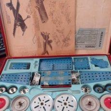 Juegos construcción - Meccano: MECCANO ANTIGUO ARGENTINO AÑOS 40. Lote 251827730
