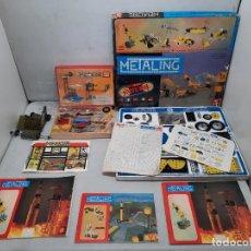 Juegos construcción - Meccano: METALING N° 5 POCH MECCANO CON 4 CATALOGOS JUGUETE MONTAJE Y MERKUR 310. Lote 254564565