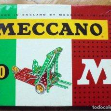 Juegos construcción - Meccano: MECCANO 0 (INCOMPLETO).AÑOS 60 -70. Lote 259013730