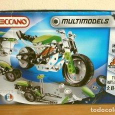 Juegos construcción - Meccano: MECCANO - MULTIMODELS SET 5 MODELOS MECHANICS CONSTRUCCION - MAD. IN FRANCE 2013 - MOTOCICLETA. Lote 264122580