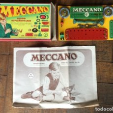 Giochi costruzione - Meccano: VINTAGE MECCANO SET Nº 0 A. Lote 266093543
