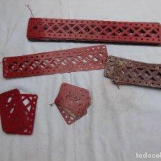 Giochi costruzione - Meccano: SUPER LOTE PIEZAS MECANNO , AÑOS 60/70 , 12 KILOS APROX . ( VER 60 FOTOS ADICIONALES.). Lote 267248169