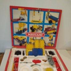 Juegos construcción - Meccano: MECCANO EN SU CAJA ORIGINAL. Lote 268305014