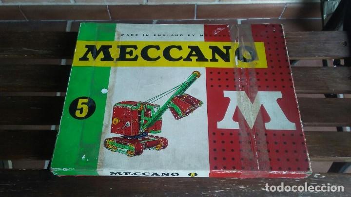 MECCANO 5. MADE IN ENGLAND. COMPLETO. (Juguetes - Construcción - Meccano)