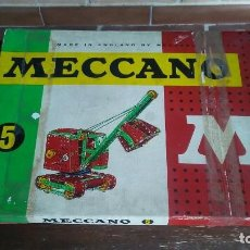 Juegos construcción - Meccano: MECCANO 5. MADE IN ENGLAND. COMPLETO.. Lote 269983868