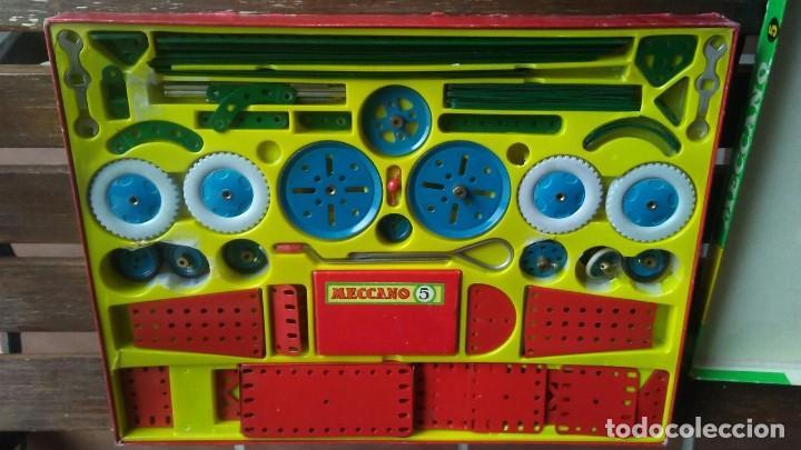 Juegos construcción - Meccano: MECCANO 5. MADE IN ENGLAND. COMPLETO. - Foto 3 - 269983868