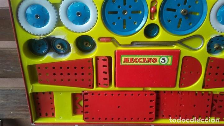 Juegos construcción - Meccano: MECCANO 5. MADE IN ENGLAND. COMPLETO. - Foto 6 - 269983868