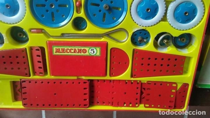 Juegos construcción - Meccano: MECCANO 5. MADE IN ENGLAND. COMPLETO. - Foto 7 - 269983868