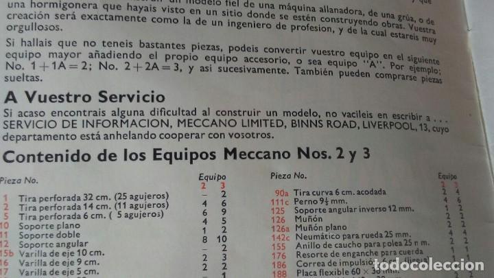 Juegos construcción - Meccano: MECCANO 5. MADE IN ENGLAND. COMPLETO. - Foto 18 - 269983868