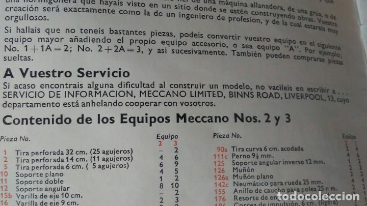 Juegos construcción - Meccano: MECCANO 5. MADE IN ENGLAND. COMPLETO. - Foto 20 - 269983868