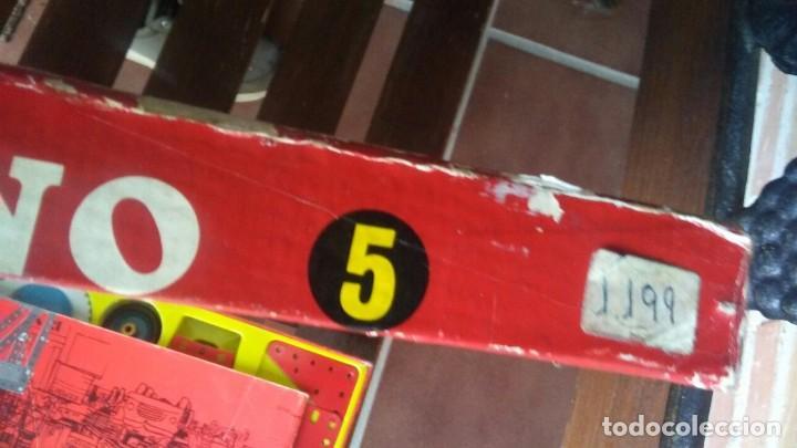 Juegos construcción - Meccano: MECCANO 5. MADE IN ENGLAND. COMPLETO. - Foto 21 - 269983868