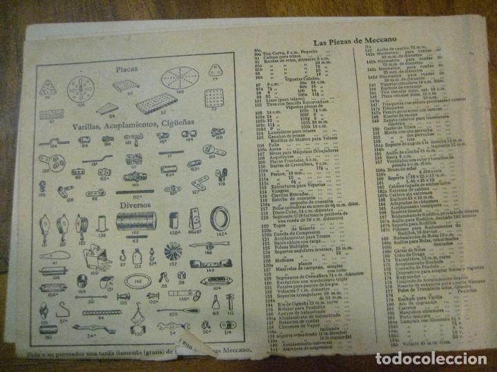 Juegos construcción - Meccano: 2 catalogo meccano nº 40.1 equipos 0 a 3 y el otro repetido sin tapas . instrucciones - Foto 7 - 270233778