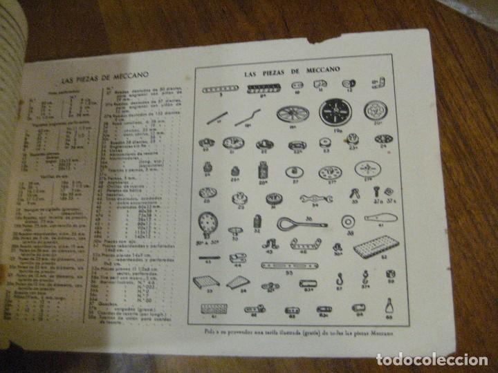 Juegos construcción - Meccano: 2 catalogo meccano nº 40.1 equipos 0 a 3 y el otro repetido sin tapas . instrucciones - Foto 11 - 270233778