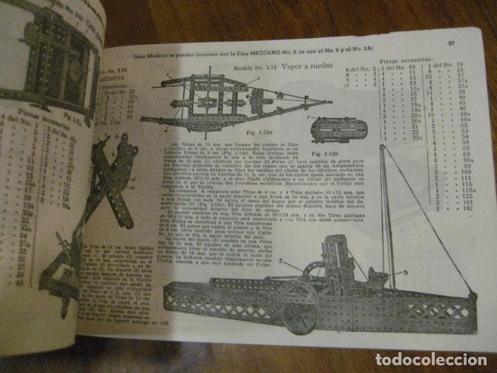 Juegos construcción - Meccano: 2 catalogo meccano nº 40.1 equipos 0 a 3 y el otro repetido sin tapas . instrucciones - Foto 12 - 270233778