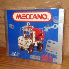 Juegos construcción - Meccano: MECCANO 303 - CAMION TODO TERRENO - NUEVO Y EN SU CAJA ORIGINAL - PRECINTADO. Lote 270650418