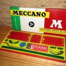 Juegos construcción - Meccano: MECCANO 2A - NOVEDADES POCH - EN SU CAJA ORIGINAL - AÑOS 60 - MUY BUEN ESTADO. Lote 270652213