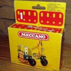 Juegos construcción - Meccano: MECCANO - GRUA - NUEVO Y EN SU CAJA ORIGINAL - PBP - AÑO 1981 - FABRICADO EN ESPAÑA. Lote 270652868