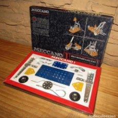 Juegos construcción - Meccano: MECCANO 1, DE EXIN - ACERO TRATADO - EN SU CAJA ORIGINAL - PRECINTADO. Lote 270653303