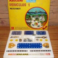 Juegos construcción - Meccano: MECCANO METALING - VEHICULOS 1 MULTIKIT - NOVEDADES POCH - NUEVO Y PRECINTADO. Lote 270673488