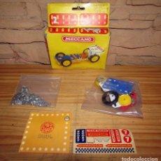 Juegos construcción - Meccano: MECCANO FORMULA 1 - NUEVO Y EN SU CAJA ORIGINAL - COMPLETO - PBP - MADE IN SPAIN - 1981. Lote 270865683