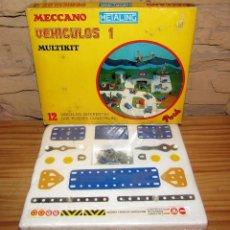 Juegos construcción - Meccano: MECCANO METALING - VEHICULOS 1 MULTIKIT - NOVEDADES POCH - NUEVO Y PRECINTADO. Lote 270872343