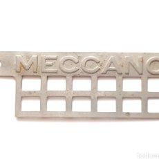 Juegos construcción - Meccano: DIFICIL ASPA DE MOLINO ORIGINAL NIQUEL AÑOS 20. PALABRA MECCANO GRABADA EN RELIEVE. PIEZA 61. Lote 271059888