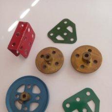 Juegos construcción - Meccano: LOTE 1 DIVERSO DE PIEZAS MECCANO. Lote 274388173