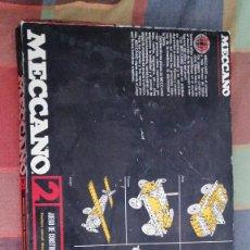 Juegos construcción - Meccano: M69 MECCANO 2 JUEGO DE CONSTRUCCION EN ACERO TRATADO EXIN COMPLETO 43X31CMS. Lote 274880288