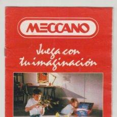 Juegos construcción - Meccano: CATÁLOGO 1991 MECCANO, 12 PÁGINAS. Lote 277846593