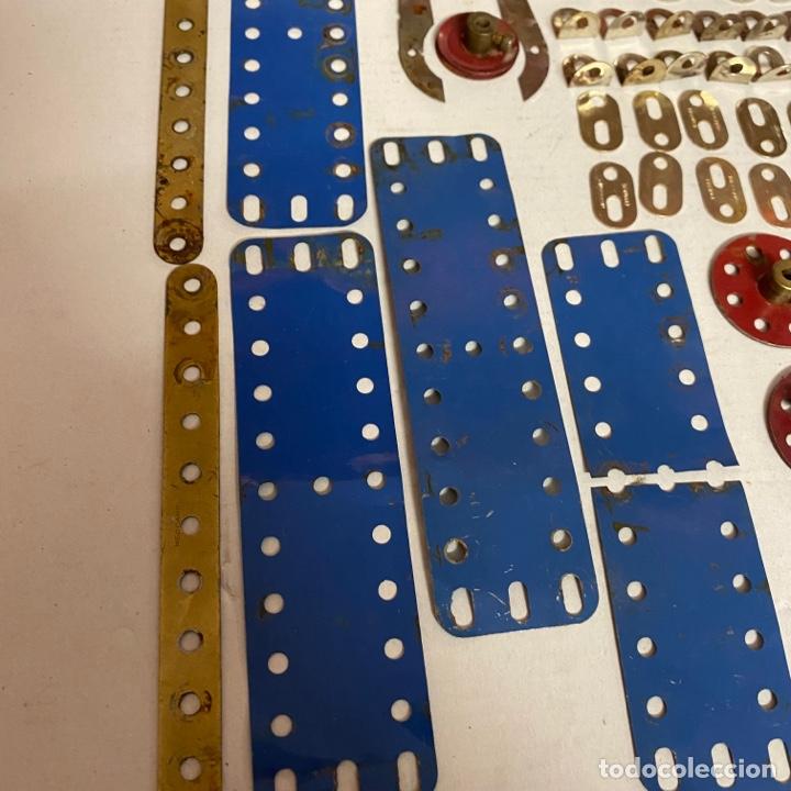Juegos construcción - Meccano: Lote antiguas piezas Meccano francia - Foto 2 - 278392258