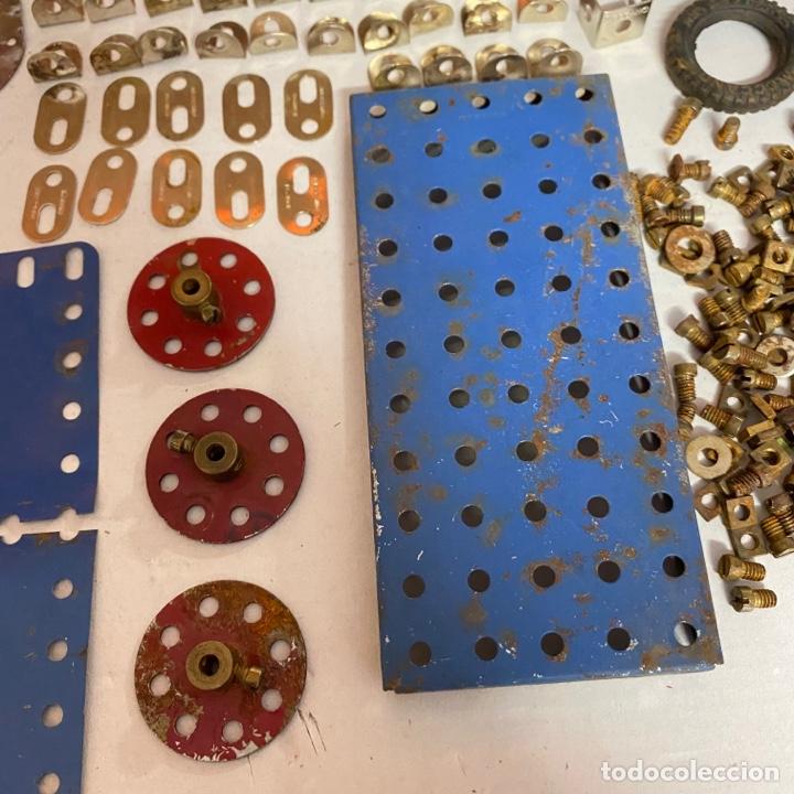 Juegos construcción - Meccano: Lote antiguas piezas Meccano francia - Foto 3 - 278392258