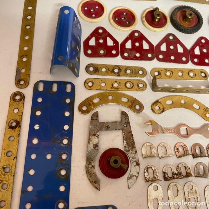 Juegos construcción - Meccano: Lote antiguas piezas Meccano francia - Foto 7 - 278392258