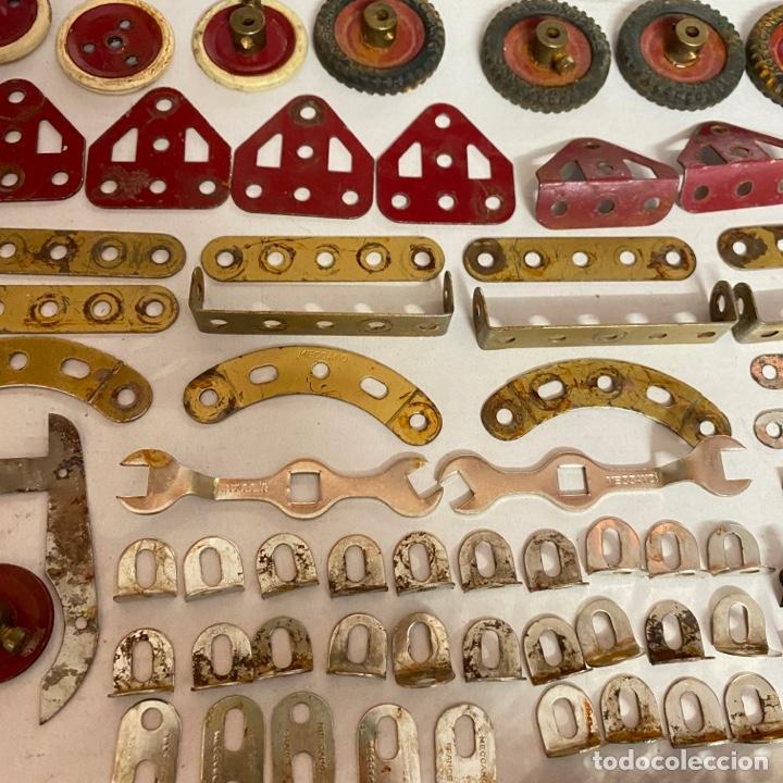 Juegos construcción - Meccano: Lote antiguas piezas Meccano francia - Foto 8 - 278392258