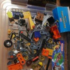 Juegos construcción - Meccano: LOTE PIEZAS MECCANO. Lote 283490343